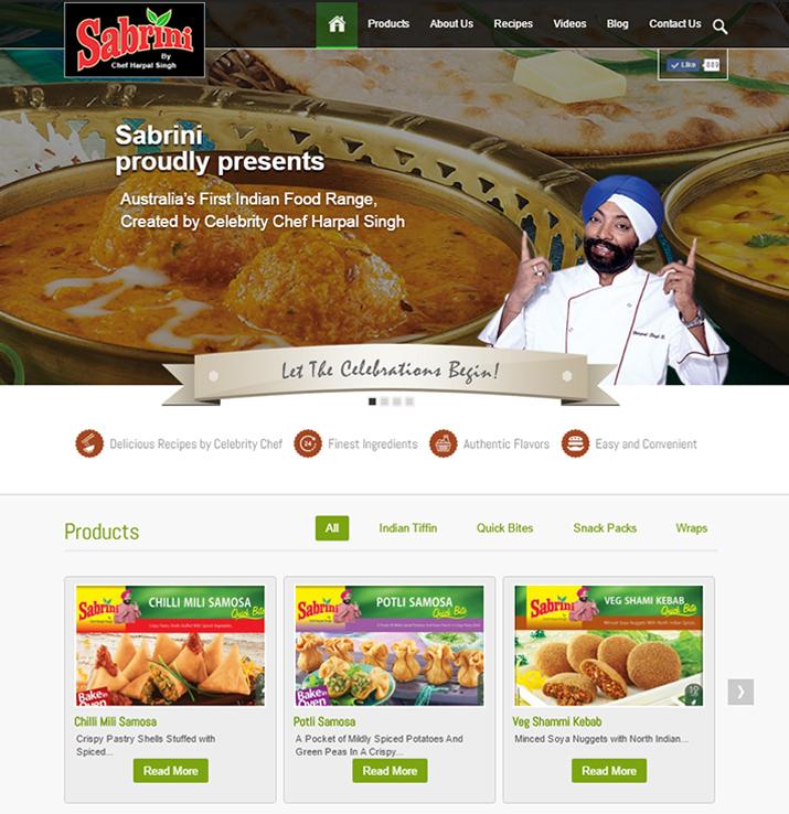 Getting social sabrini responsive web design sabrini website design forumfinder Gallery